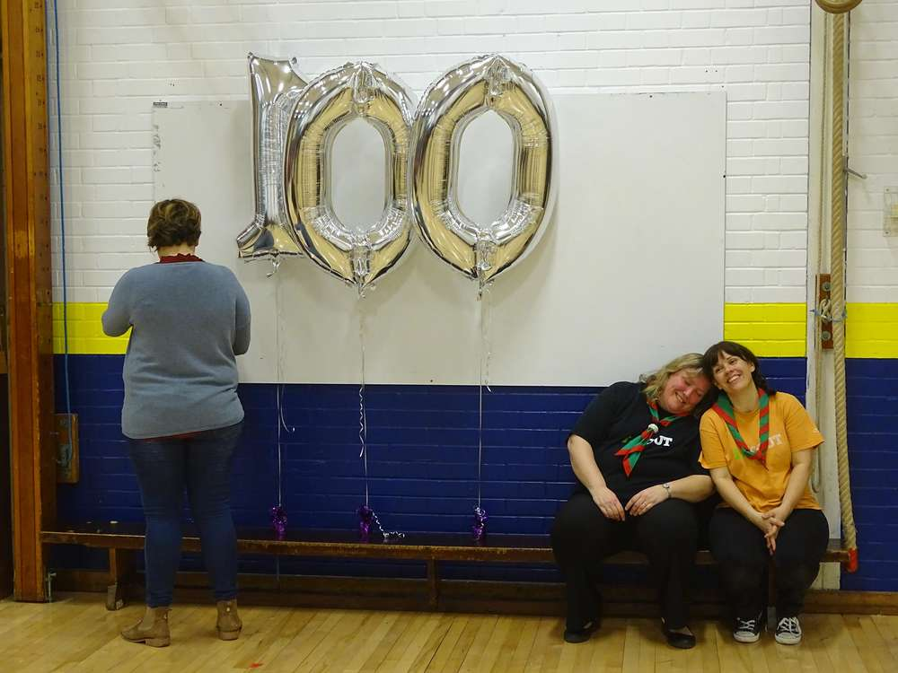 Cubs 100 Birthday Party!